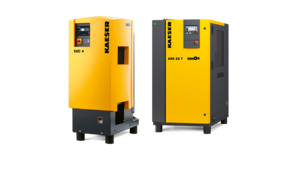 Fluid-injected rotary screw compressors